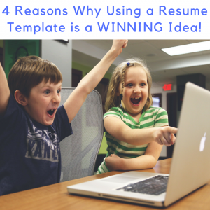 4 Reasons Why Using a Resume Template is a WINNING Idea!, resume templates Australia, resume template australia, cv template australia