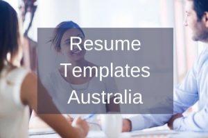 Resume Templates Australia (1)